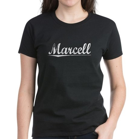 Marcell, Vintage Women's Dark T-Shirt