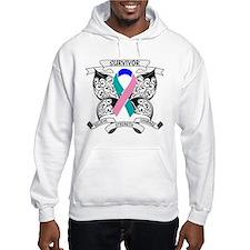 Survivor Thyroid Cancer Hoodie