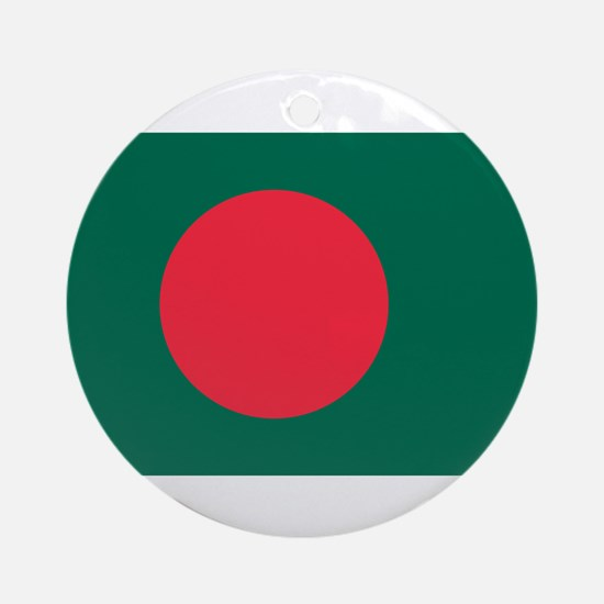 Bangladesh - National Flag - Current Round Ornamen