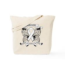 Survivor Retinoblastoma Tote Bag