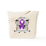 Survivor Pancreatic Cancer Tote Bag