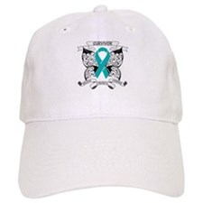 Survivor Ovarian Cancer Baseball Cap