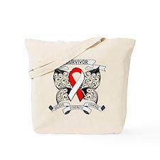 Survivor Oral Cancer Tote Bag