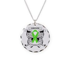 Survivor Non-Hodgkin Lymphoma Necklace Circle Char