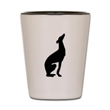 Greyhound Shot Glass