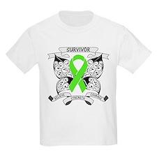 Survivor Strength Lymphoma T-Shirt