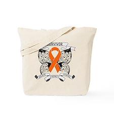 Survivor Leukemia Strength Tote Bag