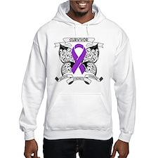 Survivor Leiomyosarcoma Hoodie