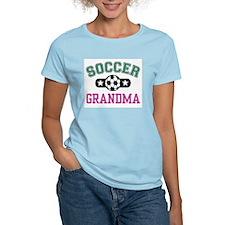 Soccer Grandma Women's Pink T-Shirt