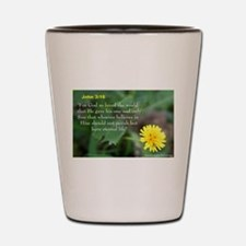 John 3:26 Dandelion Shot Glass