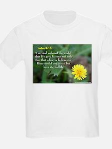 John 3:26 Dandelion T-Shirt