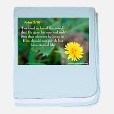 John 3:26 Dandelion baby blanket