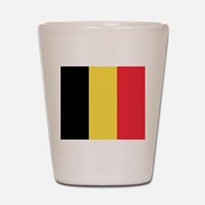 Belgium - National Flag - Current Shot Glass