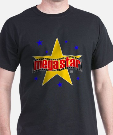 Mega Star Film Black T-Shirt