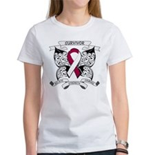 Survivor Head Neck Cancer Tee
