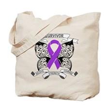 Survivor GIST Cancer Tote Bag
