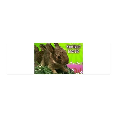 Some Bunny Loves Me 36x11 Wall Decal