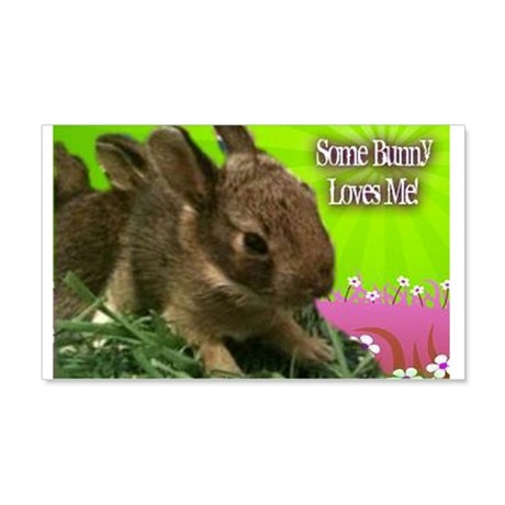 Some Bunny Loves Me 20x12 Wall Decal