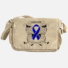 Survivor Colon Cancer Messenger Bag