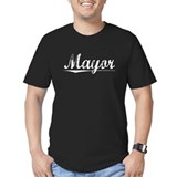Mayor Fitted Dark T-Shirts