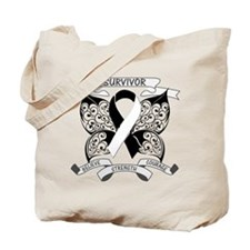 Survivor Carcinoid Cancer Tote Bag