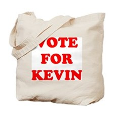 Vote For Kevin Tote Bag