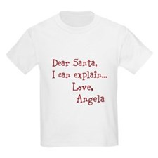 Dear Santa Custom T-Shirt