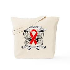 Survivor Blood Cancer Tote Bag