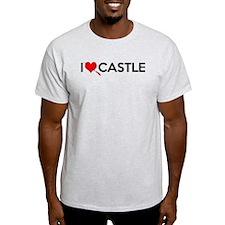 I Love (Heart) Castle T-Shirt