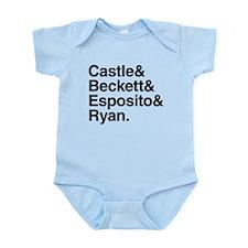 Castle Characters Infant Bodysuit