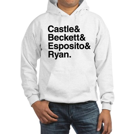Castle Characters Hooded Sweatshirt