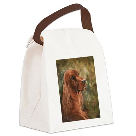 Lucy Sons.JPG Canvas Lunch Bag