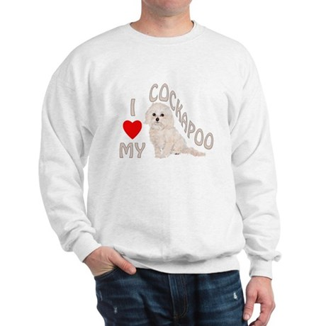 I Love My Cockapoo Sweatshirt