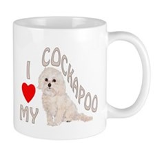 I Love My Cockapoo Mug