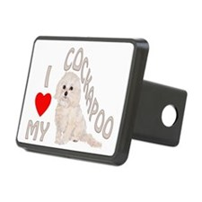 I Love My Cockapoo Hitch Cover
