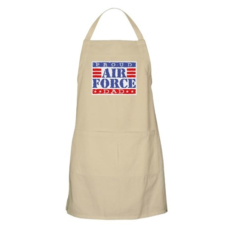 Proud Air Force Dad BBQ Apron