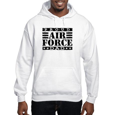 Proud Air Force Dad Hooded Sweatshirt