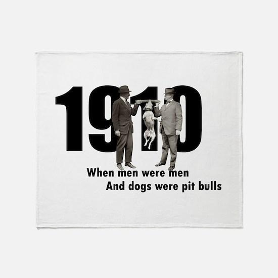1910 Throw Blanket