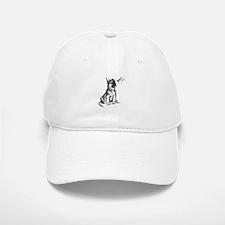 Puppy and Grasshopper Cap