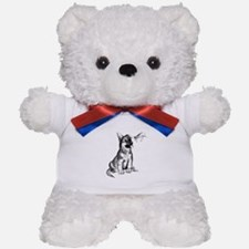 Puppy and Grasshopper Teddy Bear