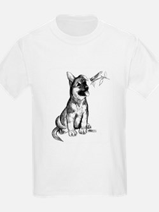 Puppy and Grasshopper T-Shirt
