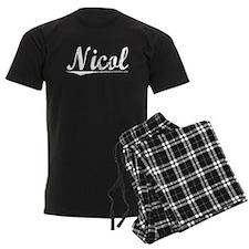 Nicol, Vintage Pajamas