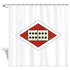 12th Anti-Aircraft Division Shower Curtain