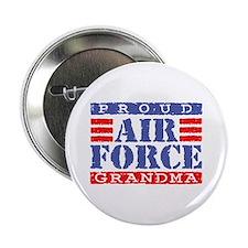 Proud Air Force Grandma Button