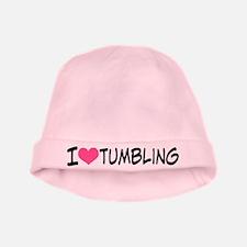 I Heart Tumbling baby hat