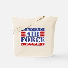 Proud Air Force Wife Tote Bag