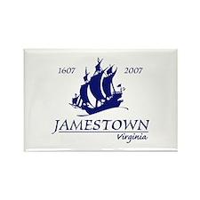 Jamestown Virginia Rectangle Magnet
