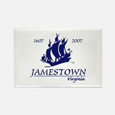 Jamestown Virginia Rectangle Magnet