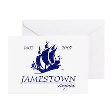 Jamestown Virginia Greeting Cards (Pk of 10)