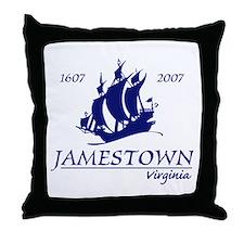 Jamestown Virginia Throw Pillow